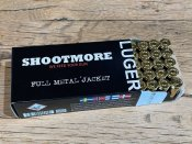 Shootmore 124grs FMJ 50st