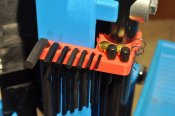 Armanov Hex Key Holder for Dillon XL650 Red