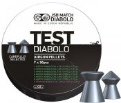 JSB Match Diabolo, Test Pistol 4,49, 4,50, 4,51mm