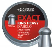 JSB Exact King Heavy 6,35 mm - 2,200 g 150st