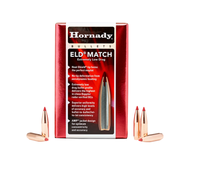 Hornady 6,5mm ELD Match  100-pack