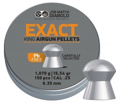 JSB Exakt King Lead Free 6,35mm