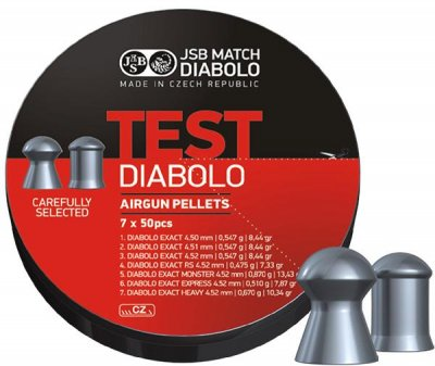 JSB Exact Test 4,5mm, 7 X 50 st